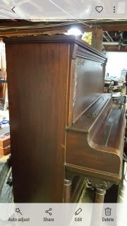 Antique Nordheimer Upright Piano (1906)