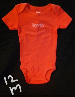 Carter's Precious Firsts onesie