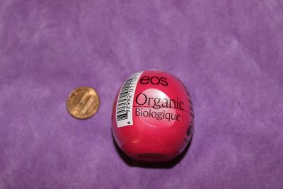 New and Sealed EOS Organic Pomegranate Raspberry Lip Balm