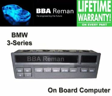 Sell BMW 3-Series Check Control Module / On Board Computer Repair Service 3 Series motorcycle in Taunton, Massachusetts, United States, for US $95.00
