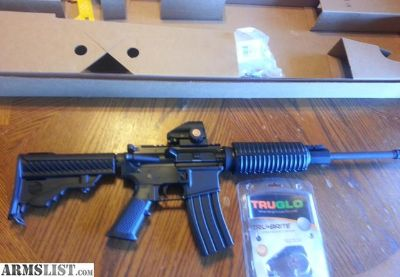 For Sale: DPMS Oracle AR15 AR 15 5.56/223 with RED DOT SIGHT