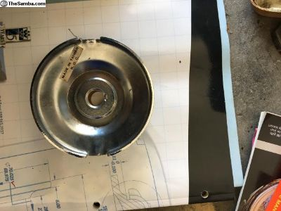 Chrome Pulley Half