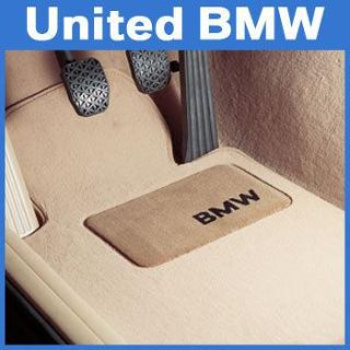 Sell BMW 6 Series Carpet Floor Mats 645 650 Convertible (2004-2010) - Beige motorcycle in Roswell, Georgia, US, for US $131.00