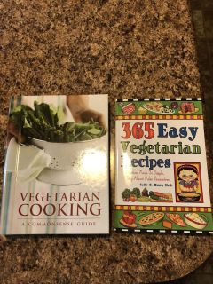 Cookbooks-$5 each or $8 for both