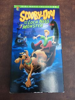 Scooby VHS