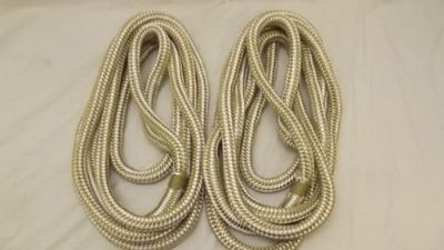"""Sell NEW Pair (2) 3/4"""" x 15' Double Braid Nylon Dock Line, Mooring, Anchor Rope, Boat motorcycle in Statham, Georgia, United States, for US $60.00"""