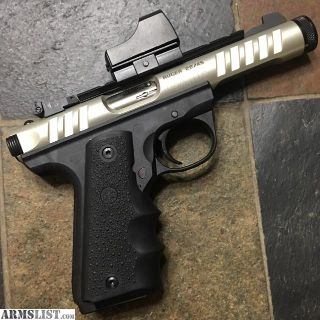 For Sale: Ruger 22-45 Annodized