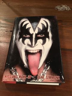 Kiss and Make-Up hardcover - Gene Simmons autobiography