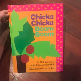 Large hardcover Chicka Chicka Boom Boom ppu only