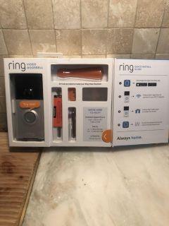 Ring Doorbell + chime