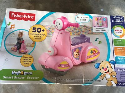 Ride on music toy new in box