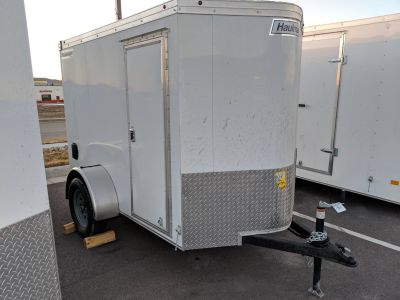 2019 Haulmark TSV58S2 Transport V-Nose 5x8 Utility Trailers Rapid City, SD