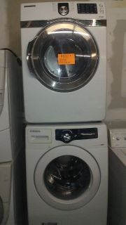 Samsung washer and dryer front load set