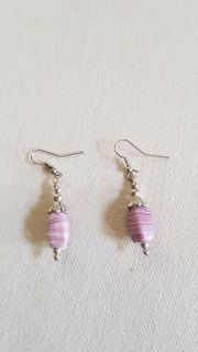Natural stone SS earrings