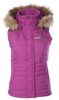Buy Divas Snowgear Hooded Womens Vest Berry Pink motorcycle in Holland, Michigan, United States, for US $108.65