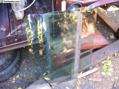 front door glass