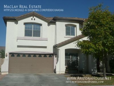 Beautiful 5 bedroom house for rent in gilbert * large lot *