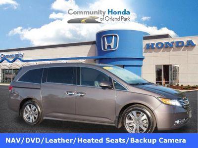 2016 Honda Odyssey Touring (Modern Steel Metallic)