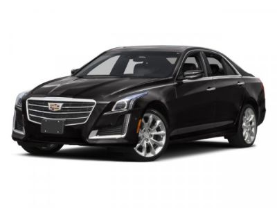 2016 Cadillac CTS 2.0T Luxury Collection (Dark Adriatic Blue Metallic)