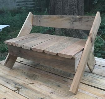 Kid s Handcrafted Wooden Bench