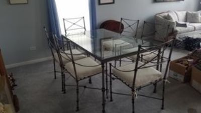Pier One Wrought Iron Dining Set
