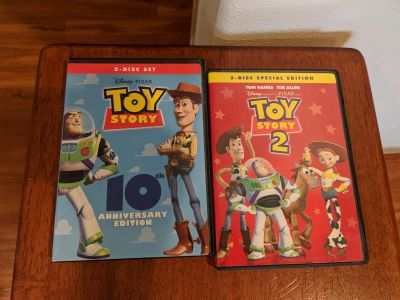 DISNEY DVD Toy Story 1 and 2