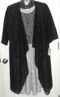 $65 Firm for Both New Lularoe Solid Black M Lace Shirley & XL Black/white Georgia dress