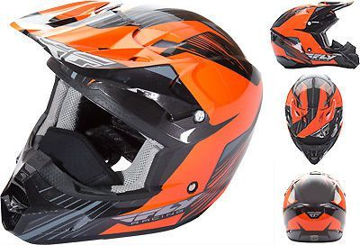 Sell Fly Racing Kinetic Pro Orange Black Cold Weather ATV Offroad Snowmobile Helmet motorcycle in Golden, Colorado, United States, for US $125.96