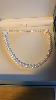 8mm freshwater pearl necklace