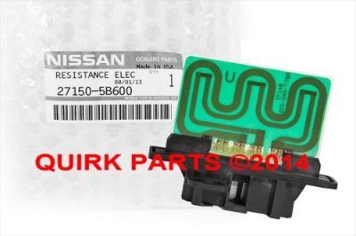 Find 1998-2001 Nissan Altima | Fan Blower Motor Resistor HVAC OEM NEW Genuine motorcycle in Braintree, Massachusetts, United States, for US $34.95