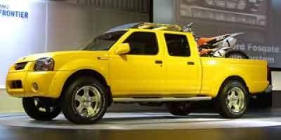 2002 Nissan Frontier XE-V6 (Solar Yellow)