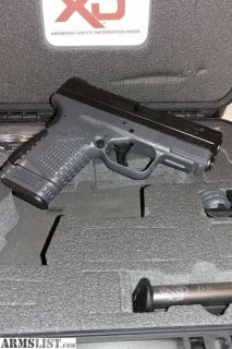 For Sale/Trade: Springfield Armory XDs 9mm