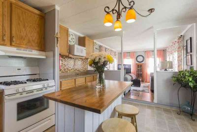 8 Mobile Drive Hudson Two BR, This home is a one of a kind with