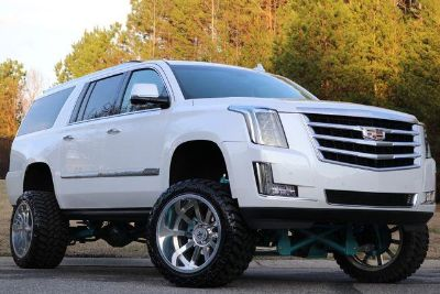2016 Cadillac Escalade ESV Premium Collection (White)