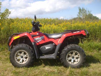 2008 Can-Am Outlander 400 H.O. XT Utility ATVs Mukwonago, WI