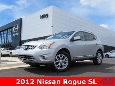 2012 Nissan Rogue S (Brilliant Silver Metallic)