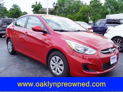 2017 Hyundai Accent GLS (Red Metallic)