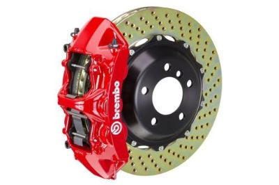 Purchase Brembo GT Brake kit Front 380mm 2 pc Drilled 6 Piston Red SLK55 AMG R171 05-11 motorcycle in Sanford, Florida, United States, for US $4,411.20
