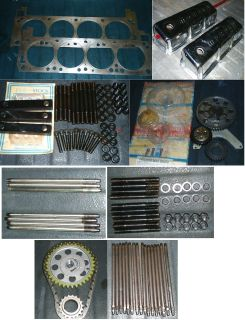 Assorted 351 Cleveland parts (351C/351M/400) Prices listed.