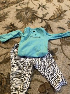 EUC 9 month Carter s outfit