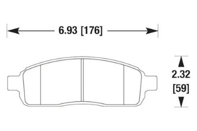 Buy HAWK HB455Z.785 - 2004 Ford F-150 Front Brake Pads Ceramic motorcycle in Chino, California, US, for US $97.46