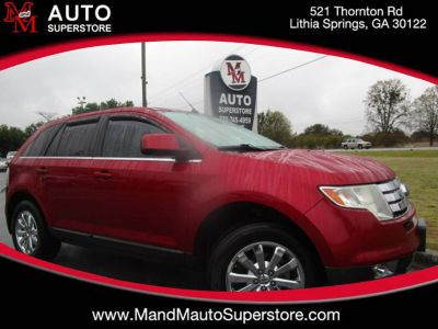 2008 Ford Edge Limited (Maroon Or Burgundy)