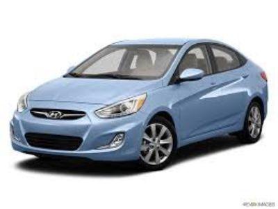 2013 Hyundai Accent GLS (Blue,Light)