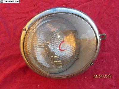 single early bug head headlight