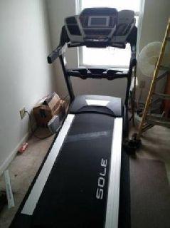 Sole F80 Treadmill and ProImpact Mat
