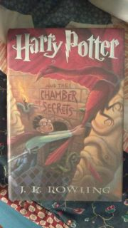 "Harry Potter ""and the chamber of secrets"" Hardcover book. Brand new."