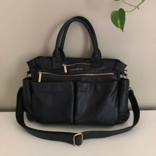 Honest Company Black Diaper Bag Tote - Like New