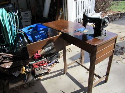 Antique Kenmore Sewing Machine (Electric)