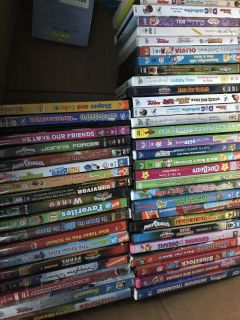 DVDs .50 each or lot for $20