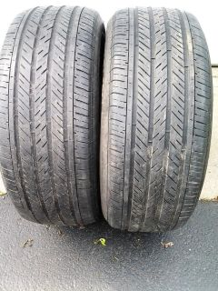 2 - Used 225/50R17 Michelin Tires